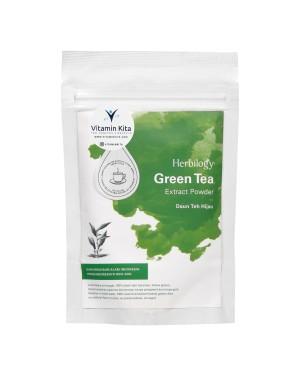 HERBILOGY GREEN TEA EXTRACT POWDER 100GR BPOM UNTUK MENURUNKAN BERAT BADAN