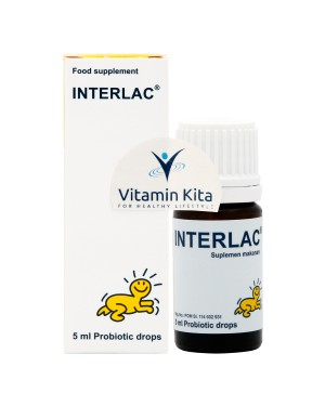 INTERLAC PROBIOTIC DROPS BPOM - 5ML
