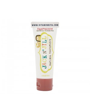 Jack N'jill Natural Toothpaste Raspberry (50g)