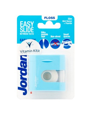 JORDAN FLOSS EASY SLIDE DENTAL TAPE 30M