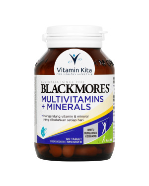 BLACKMORES MULTIVITAMINS PLUS MINERALS BPOM KALBE - 120 TAB