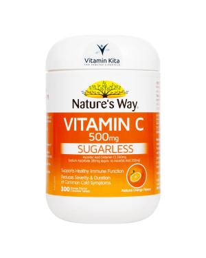 Natures Way Vitamin C 500mg-300 tab