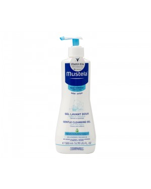 MUSTELA GENTLE CLEANSING GEL HAIR AND BODY BPOM - 500 ML