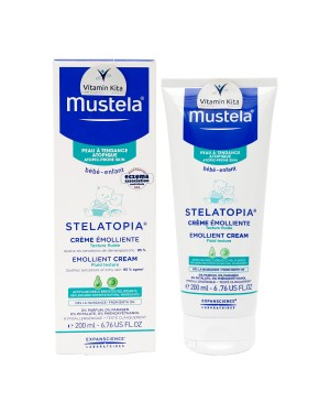 Mustela Stelatopia Emollient Cream-200ml