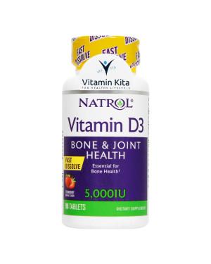 Natrol Vitamin D3 5.000IU-90Tab KK