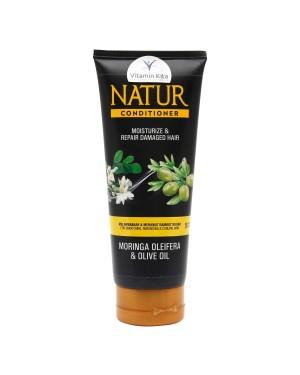 NATUR CONDITIONER MORINGA AND OLIVE OIL 165ML