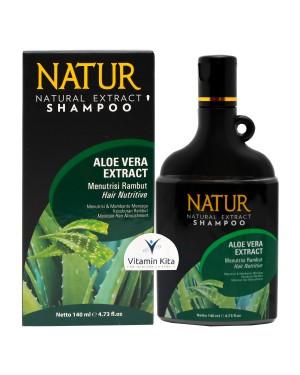 NATUR NATURAL EXTRACT SHAMPOO ALOE VERA EXTRACT - 140 ML