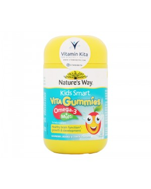 Nature's Way VitaGummies Omega 3 + Multi (50 soft gummies)