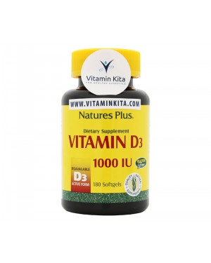 NATURES PLUS VITAMIN D3 1000 IU (180 SOFTGEL)