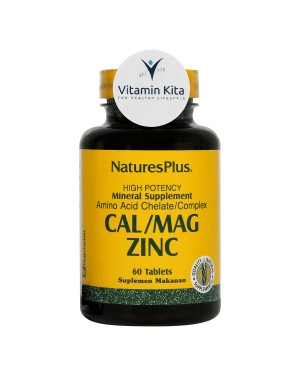 NATURES PLUS CAL/MAG ZINC - 60 TAB