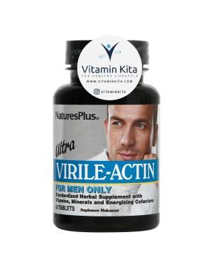 NATURES PLUS ULTRA VIRILE ACTIN FOR MEN (60 TAB)