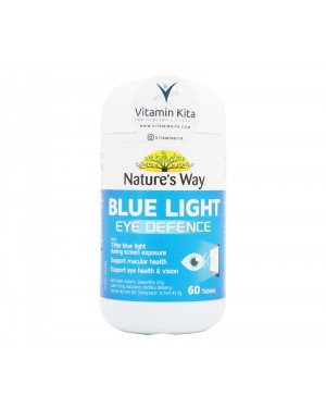 Natures Way Blue Light Eye Defence - 60 Tabs