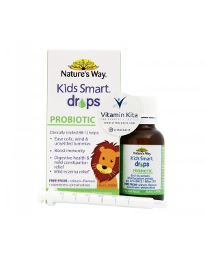 Natures Way Kids Smart Drops Probiotics (20mL)