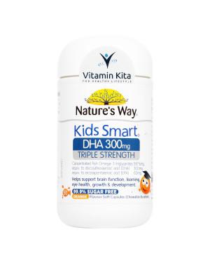 NATURES WAY KIDS SMART TRIPLE STRENGTH DHA 300MG (50 SOFT CAPS)