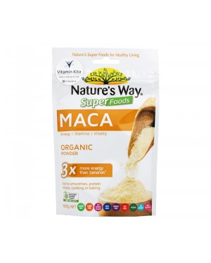Natures Way Superfoods Organics Powder Maca (100 gr)