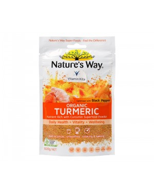 Natures Way Superfoods Organic Turmeric Powder 100gr