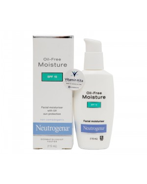 Neutrogena Oil Free Moisture with sunscreen SPF 15 (115mL)