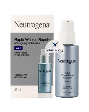 Neutrogena Rapid Wrinkle Repair Moisturiser Night-29mL