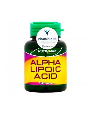Nutrimax Alpha Lipoic Acid Penurun Kadar Gula Darah dan Kolesterol - 30 Caps