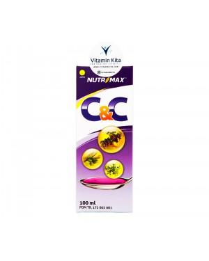 Nutrimax C And C Syrup Untuk Demam,Batuk Dan Pilek - 100 ml