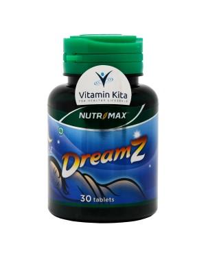 Nutrimax Dreamz - Untuk Gangguan Sulit Tidur - 30 Tabs