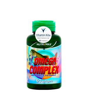 Nutrimax Omega Complex - 60 Softgels