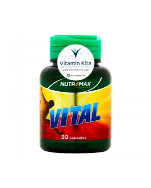 Nutrimax Vital Vitamin Zat Besi Untuk Anemia - 30 Caps