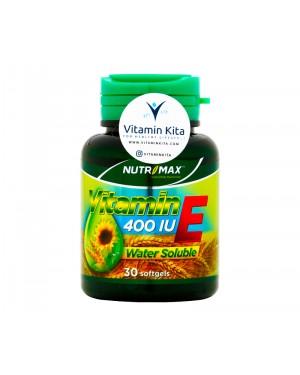 Nutrimax Vitamin E 400 IU Water Soluble - 30 Softgels
