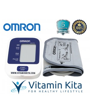 OMRON AUTOMATIC BLOOD PRESSURE MONITOR HEM-8712 - 1 PC