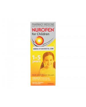 Nurofen For Children 1-5 Years Orange Flavour - 200 mL