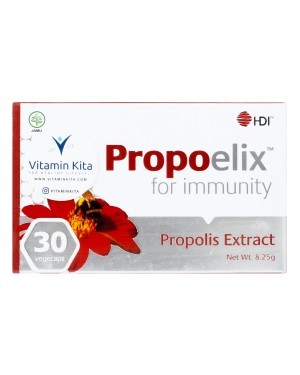 HDI PROPOELIX WITH PROPOLIS EXTRACT FOR IMMUNITY 30 VEGECAPS