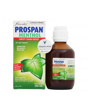 Prospan Chesty Cough Relief Menthol Flavour (200ml)