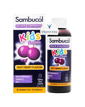 Sambucol Cold And Flu For Kids Tasty Berry Flavour (120 ml)