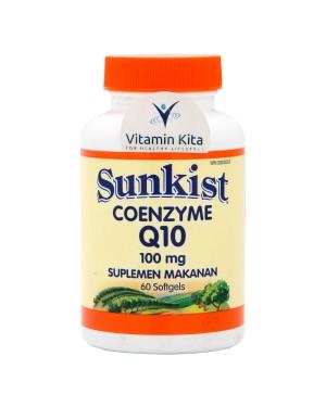 SUNKIST COQ10 100MG (60 SOFTGEL)