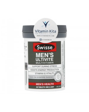 Swisse Men's Ultivite Multivitamin - 30 Tab