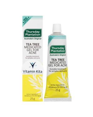 Thursday Plantation Tea Tree Medicated Gel For Acne (25gr)