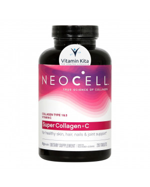 NEOCELL SUPER COLLAGEN PLUS C TYPE 1 and 3 6000MG-250 TAB